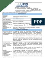 UPID Proyecto Tesis Ing. Francisco Meza Kuffo