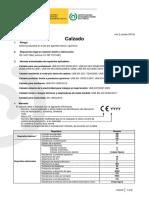 Norma ISO - Calzado