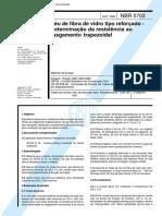 NBR 5703 - Veu De Fibra De Vidro Tipo Reforcado - Determinacao Da Resistencia Ao Rasgamento Trape.pdf