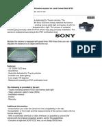 Camera Sony CCCD (1)