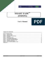 SMF251-A SmartFade Switcher - Analog Way  - User Manual