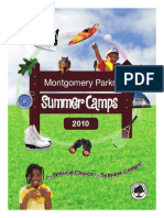 Montgomery Parks Summer Camps 2010