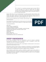 Cbd Jam y Deep Mandarin