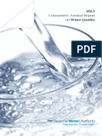 RWA Water Quality Report 2015