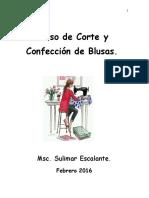 Curso de Corte y Confección de Blusas