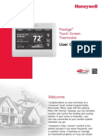 Honeywell Prestige User Guide