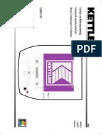 Manual Kettler Satura E EXT Computer-D-GB-F