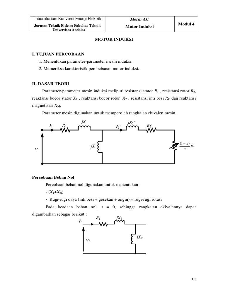 8 Modul 4 Motor Induksi Pdf