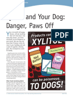 Xylitol and Your Dog - Danger, Paws Off_0516