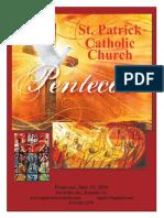 Pentecost Pentecostes