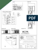 E01 Cabina Di Trasformazione Chema Pianta e Sezioni