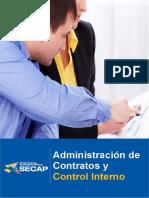 Curso Administración de Contratos y Control Interno Completo