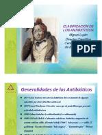 Clasificacion de Los Antibioticos Dr Miguel Lujan (1)