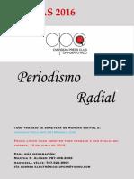 Reglas Periodismo Radial 2016