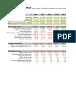FluJo de Caja MenSual Excel