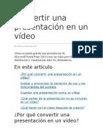Crear Un Video