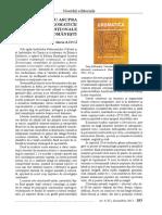 Studiu Asupra Cromaticii Traditionale Romanesti