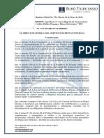 RO# 751 - S - Apruebese El TDC (Anexo Reporte de Transacciones Con TC, DB y de) (10 Mayo 2016)
