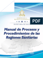Manual de Procesos y Procedim Reg, Edit Final 17sept. 2014