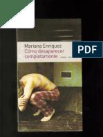 Como Desaparecer Completamente (Emece, 2004)