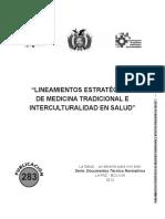 Lineamientos Salud Interculturalidad