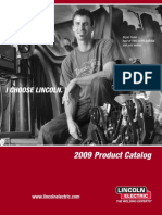 Lincoln 2009 Product Catalog