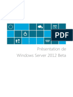 Présentation de Windows Server 2012