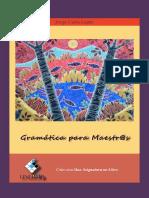 Gramatica Para Maestr@s Jorge Cuba