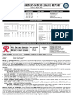 05.13.16 Mariners Minor League Report