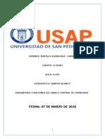 Funciones Del Banco Central de Honduras
