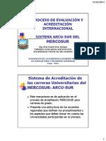 David Cruz Experiencias Sobre El Proceso de Acreditacion de Los Programas en Ciencias Agrarias