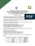 Lista de Exercicios - Gestao Logistica 2013 (1)