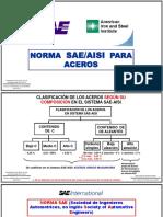 Precesos de Manufactura I - Clasificacion y Usos de Los Aceros