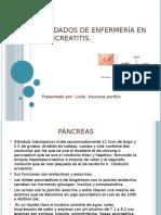 Cuidados de Enfermeria en Pancreatitis