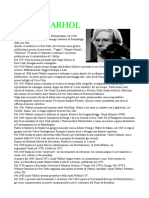School research about Warhol