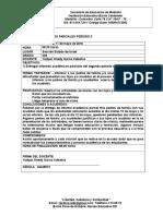 Informe Académico Mayo 11