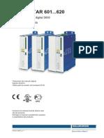 Kollmorgen S600 Servo Drive Manual Del Producto S601-620 Es