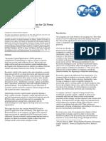 Spe108163 - Economic Capital Optimization for Oil Firms
