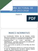 PROGRAMA SECTORIAL DE SALUD 2013-2018.ppt