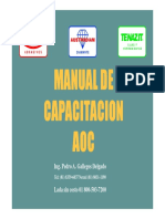 AUSTROMEX Manual Para Capacitacion