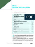 Electronique - La Normalisation Dans La Conception Electronique