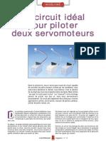 Electronique Circuit Pour Piloter 2 Servo-Moteurs