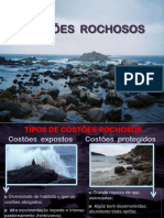 Praias Rochosas e Arenosas