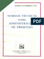 Normas técnicas sobre administración de prisiones