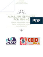 Auxiliary Services for Mining