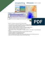 3D Electric Prospecting_VECS Programs