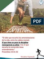 Disciplinas Espirituales Internas y Externas