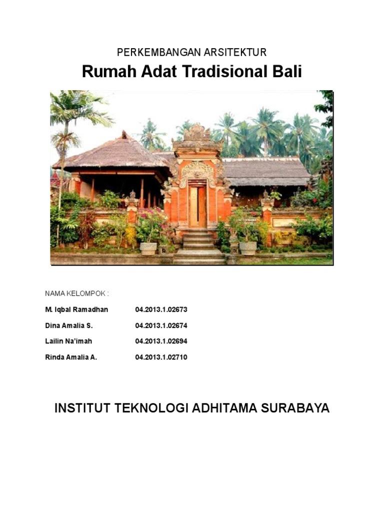 71 Nama Dan Gambar Rumah Adat Bali HD Terbaik