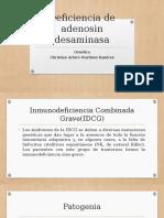 Deficiencia de Adenosin Desaminasa 1