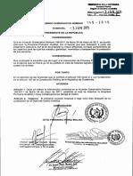 AG-145-2015 ACUERDO GUBERNATIVO GUATEMALA